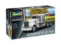 REVELL® 1:25 SCALE KENWORTH W-900 MODEL TRUCK KIT LONG DISTANCE TRUCK SET 07659