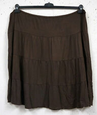 Unifarbene Damenröcke aus Baumwollmischung in Übergröße