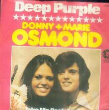 "7"" Donny & Marie Osmond/Deep Purple (D)"