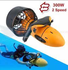 Waterproof 300W Electric Underwater Scooter Water Sea Dual Speed Propeller.