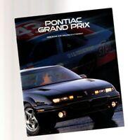 1996 Pontiac GRAND PRIX GP Brochure / Catalog with Color Chart: SE, GT, GTP