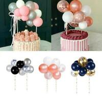 1 Set Mini Balloon Cake Topper Wedding Birthday Baby Shower Party Decoration