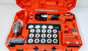 Milwaukee 2679-600C M18 ForceLogic 600 MCM Crimper Kit w/ #8-600 MCM CU Dies