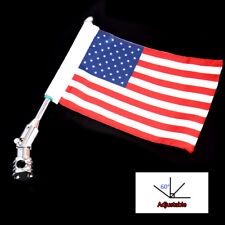 Adjustable Mount Flag For Harley Electra Glide FLH/T Dyna&Universal Motorcycle