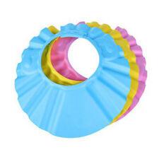 Colorful Adjustable Soft Kid Baby Shampoo Bath Shower Cap Hat Wash Hair Shield e