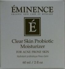 Eminence Clear Skin Probiotic Moisturizer - 60 ml / 2 oz (New In Box)