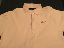 Greg Norman Men's Solid Polo Shirt, Size Large Brand New