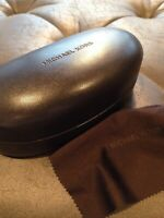 Michael Kors Sunglasses Case With Cloth (Hard Clam Closure Case)