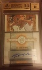 KOBE BRYANT UPPER DECK TOP PROSPECTS SIGNS SUCCESS SIGNATURES SP BGS 9.5 AUTO 10