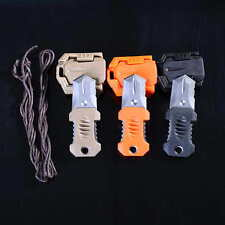 EDC Sawtooth Mini Stainless MOLLE Webbing buckle Self Defence survival Tool