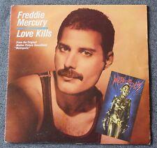 Freddie Mercury, love kills / Giorgio Moroder, rotwang's party, SP - 45 tours