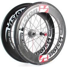 Vision Metron 90 Carbon Tubular Time Trial Triathlon Wheelset Shimano/Sram 10-S