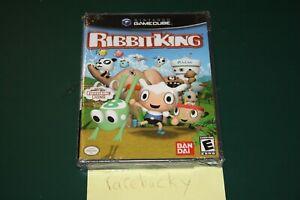 Ribbit King (Nintendo Gamecube) NEW FACTORY SEALED, SUPER RARE