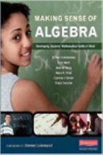 Making Sense of Algebra: Developing Students' Mathematical Habits of Mind by Go