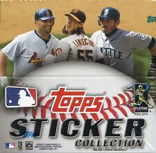 2011 Topps MLB Baseball Collectible Stickers (Pick 10) Cardinals, Cubs, Red Sox