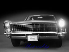 Buick Riviera 1965 Front View  Press 8 x 10  Photograph