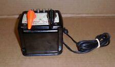 "% Lionel O Trains ""Dual Handle 90 Watt Train Transformer w/ Whistle Control"""