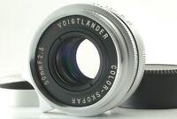 【TOP MINT w/ Hood】 Voigtlander Color Skopar 50mm f/2.5 For Leica L39 From Japan