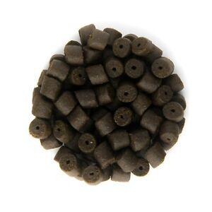 14mm Coppens Pre Drilled Black Halibut Pellets - Trout, Carp & Coarse Fishing
