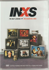 INXS - I'M ONLY LOOKING THE ESSENTIAL HITS (DVD) CLICK BUY NOW & POSTAGE IS FREE