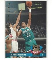 1992-93 UPPER DECK BASKETBALL ROOKIE STANDOUTS ALONZO MOURNING #RS2 - HORNETS