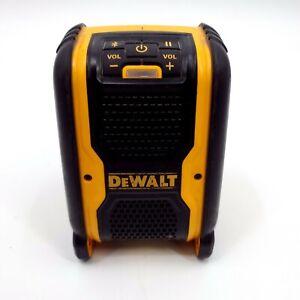 Dewalt 20 Volt Max Bluetooth Portable Speaker DCR006 -Tested and works