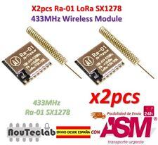 2pcs Ra-01 LoRa SX1278 433MHz Wireless Spread Spectrum Transmission Module Ra01