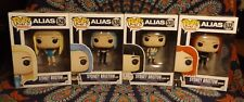 Funko POP! Television ALIAS All 4 SIDNEY BRISTOW Blond, Red, Blue & Black Haired