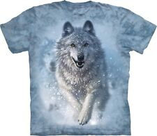 Snow Plow Wolf T Shirt Adult Unisex The Mountain Xx-large 1036734