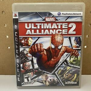 Marvel: Ultimate Alliance 2 PS3 Complete CIB (PlayStation 3, 2009)