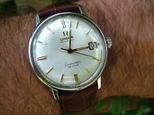 Todo Original 1966 De Colección Omega Seamaster Deville 34mm Reloj Suizo Automático Garantía