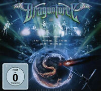 Dragonforce in The Line Of Fire 2015 Region 0 Deluxe DVD+Bonus CD Neu / Verpackt