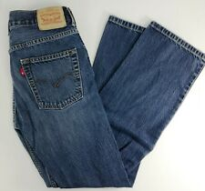 LEVIS 514 Womens Straight Fit Dark Wash Jeans 16 REGULAR 28x28