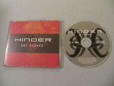 HINDER Get Stoned promo CD single Extreme Behavior