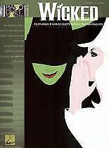 PIANO DUET PLAY ALONG 20 Wicked Book/CD