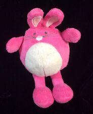 Old Navy Pink Bunny Rabbit Soft Toy Plush Stuffed 9""