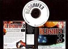 REDSHIFT 3. SUPERB PLANETARIUM SOFTWARE FOR THE PC. ORIGINAL VERSION!