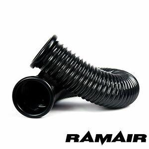 RAMAIR Kaltluftzuführung PVC Flexibel Ansaugrohr für Induktion Sätze 100mm 1m