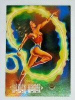 Wonder Woman F1 DC Master Series Skybox foil insert card 1994