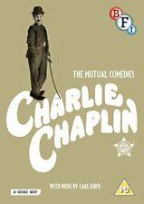 Charlie Chaplin The Mutual Films Collection - DVD Region 2 Shipp