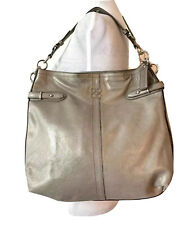 Coach Hobo Handbag Colette Leather Metallic Gold 16442 Brand New With Defects