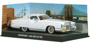 James Bond LIVE AND LET DIE Corvorado 1:43 Scale Diecast Plus Magazine #22 MINT