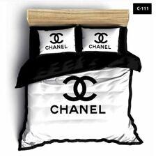 6 PC Of Set Luxury Pillow Bedding Set,chanel Bedding Set,chanel Duvel Pillow
