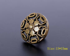 30X 15mm Antique Brass Bohemian Flower Rapid Rivet Leather craft Stud Decorative