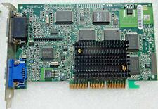 SCHEDA VIDEO PC MATROX G4 G400 16MB AGP 4X VGA VIDEO GRAPHIC CARD GRAFIKKARTE TV
