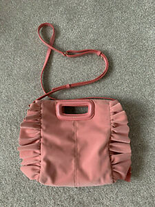MAJE 'SAC M' MINI BAG IN PINK. Very Good Condition.