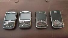 Lot of 4 Bl 00004000 ackberry Smartphones Verizon Cdma - Fully Functional + Extras