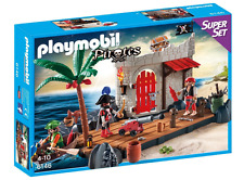 NEW PLAYMOBIL PIRATE FORT SUPERSET 6146 CHILDREN BUILDING CONSTRUCTION PLAY TOY