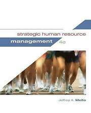 Strategic Human Resource Management by Jeffrey A. Mello (Hardback, 2014)
