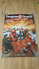CAPCOM CPS II DUNGEONS & DRAGONS ARCADE GAME POSTER FULL SIZE 72.5cm x 103cm